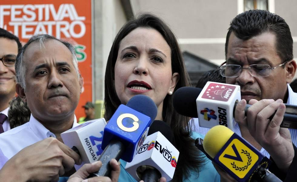 María Corina Machado: Constituyente destruyó lo que quedaba de República