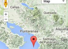 El accidente fue reportado a las 9:45 a.m. en las cercanías de la costa de Jacó.