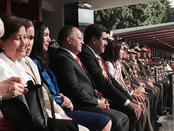 Foto: @PresidencialVen / Titulares del CNE, Defensoría del Pueblo, Tribunal Supremo de Justicia, Asamblea Nacional, junto al primer mandatario
