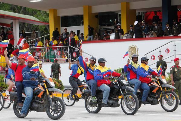 Foto: @PresidencialVen / Milicia