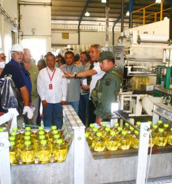 REDIOR y autoridades regionales inspeccionan planta / Archivo Gobernación Anzoátegui
