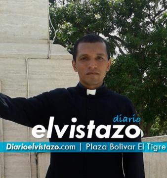 Sacerdote salió desde el sur de Anzoátegui a Caracas, agosto 2016