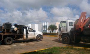Vehículos hurtados de Procdorca. Foto: Nilsa Varela Vargas