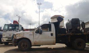 Camiones siniestrados / Foto: Nilsa Varela Vargas
