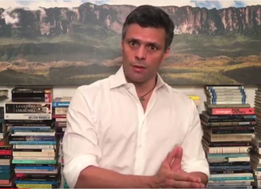 (VIDEO) Leopoldo López apela a la determinación para impedir la Constituyente