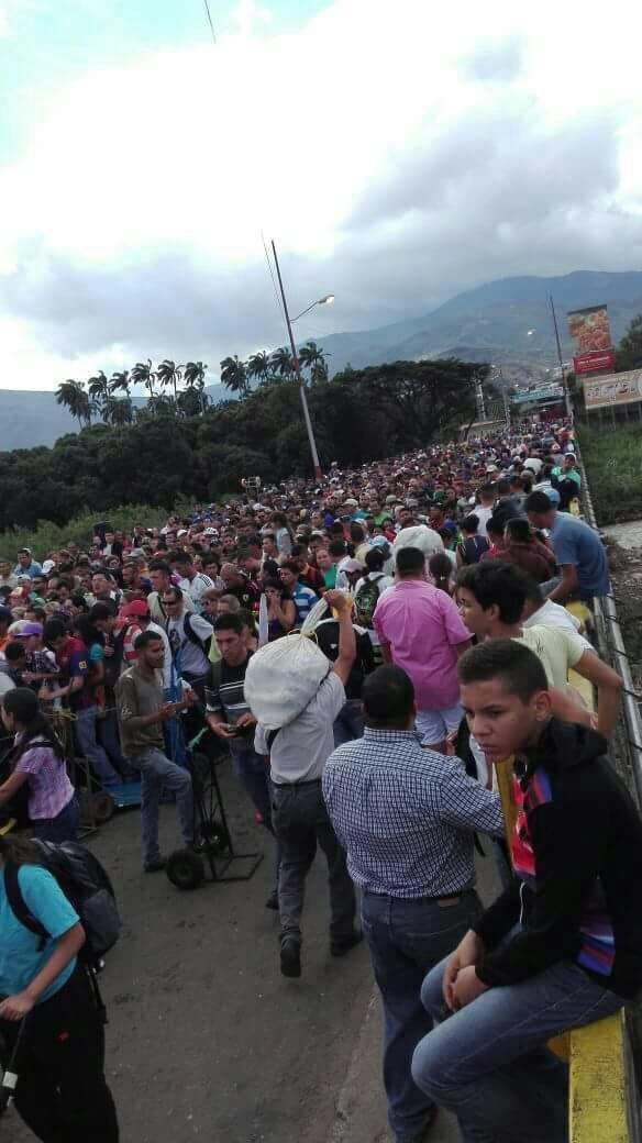 Venezolanos huyen a Colombia por miedo a la Constituyente y al Paro