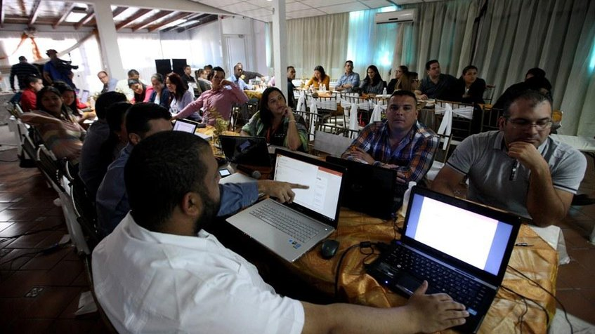 Integrantes del Programa de Formación de Cuarto Nivel de Pdvsa se reunieron en El Tigre