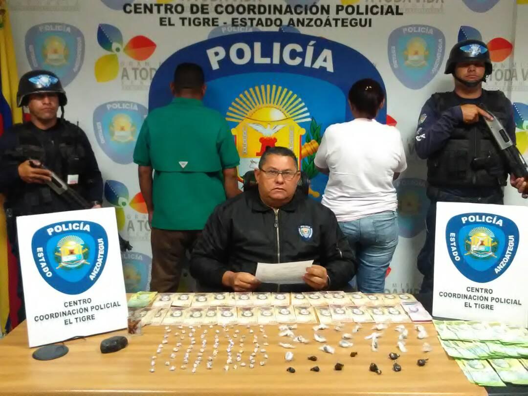 Presuntos microtraficantes de drogas fueron detenidos en sector Sur América