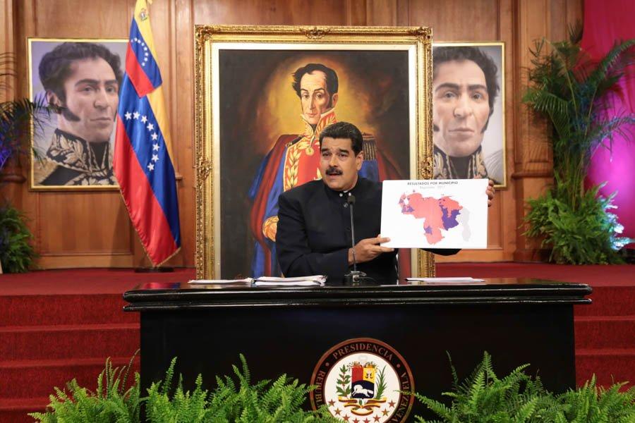 Maduro irá a elecciones municipales con o sin oposición