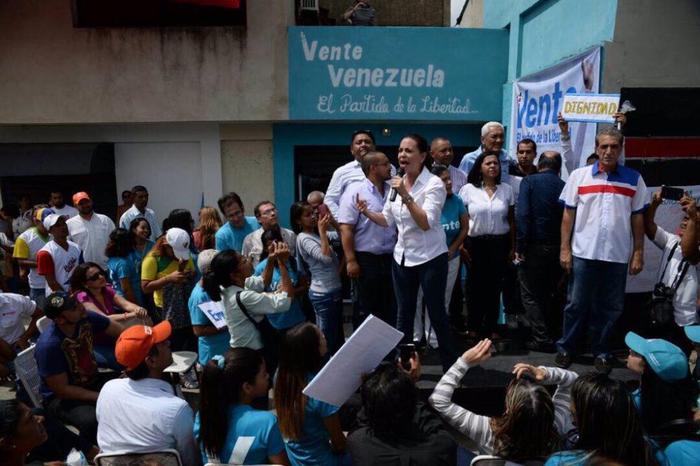 """María Corina Machado de gira por Venezuela: """"Todos somos necesarios"""""""