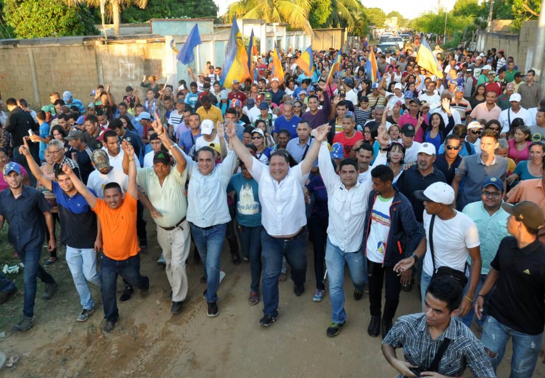 #Municipales2017: Ernesto Raydán arrancó campaña en San Miguel
