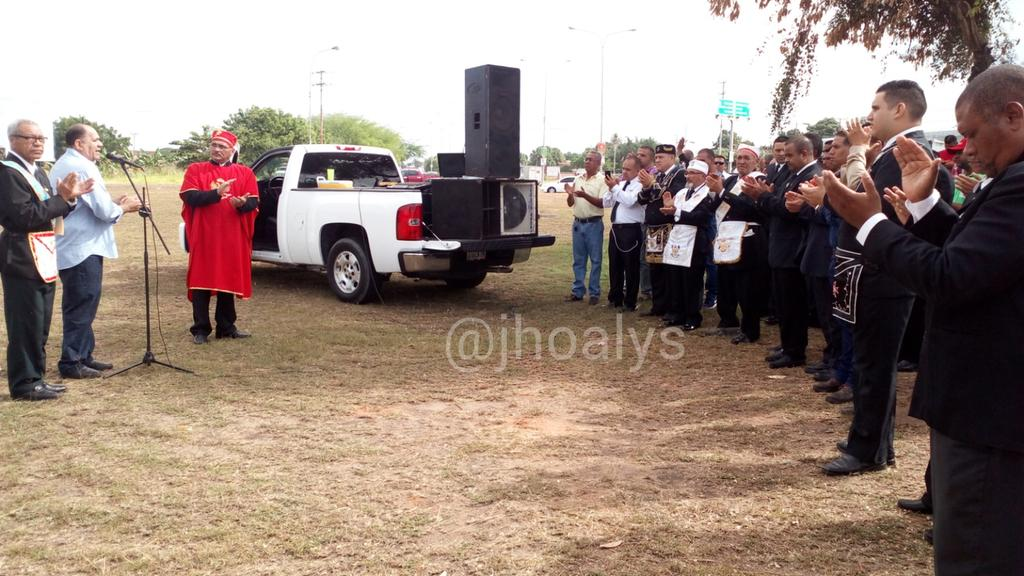 Masones de Guayana exigieron justicia para su Querido Hermano, Óscar Pérez