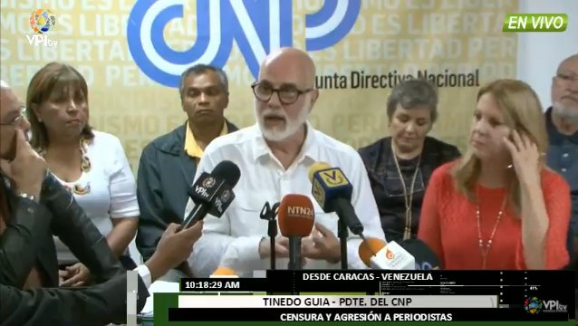 CNP: Sigue la presión para no informar