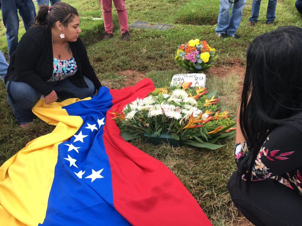 Entierro de Óscar Pérez ocurrió este domingo 7 am, detalles @milmanrique