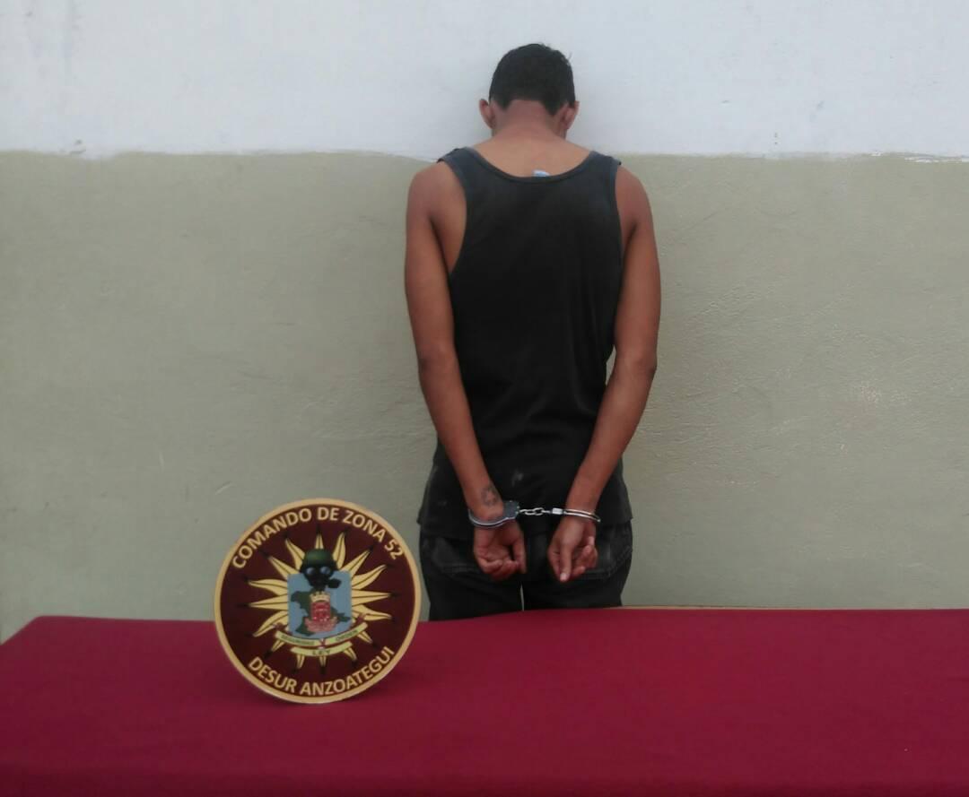Capturados por GNB Anzoátegui 11 sujetos solicitados