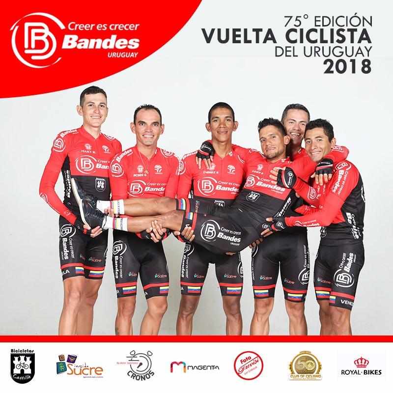 Venezuela participa desde hoy en la 75° Vuelta a Uruguay