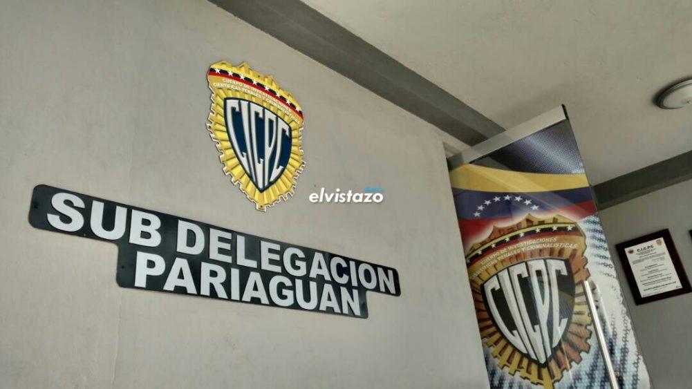 Cicpc Pariaguán tiene detenidos por dos homicidios