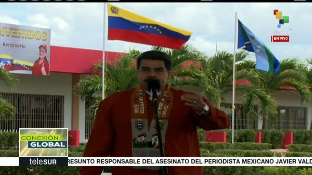 """Maduro: """"El 20 de mayo la gente va a elegir entre el dólar y el bolívar"""""""