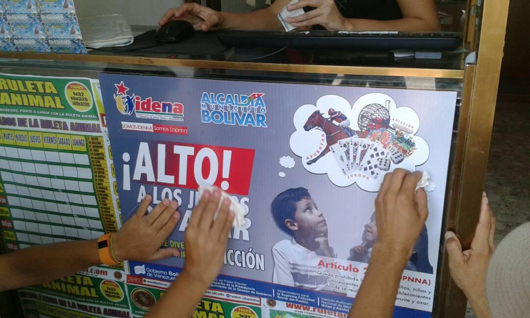 """Campaña Idenna """"Alto a los juegos de azar"""" se despliega en Anzoátegui"""