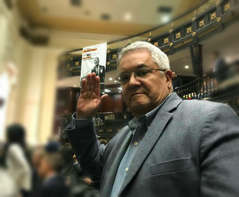 El primero en votar a favor de investigar a Maduro fue el diputado por Anzoátegui, Hector Cordero