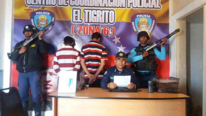Dos detenidos en Guanipa por hurto de válvula de medición de crudo