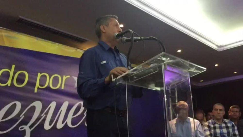 #20M Candidato presidencial Henri Falcón desconoce el proceso electoral