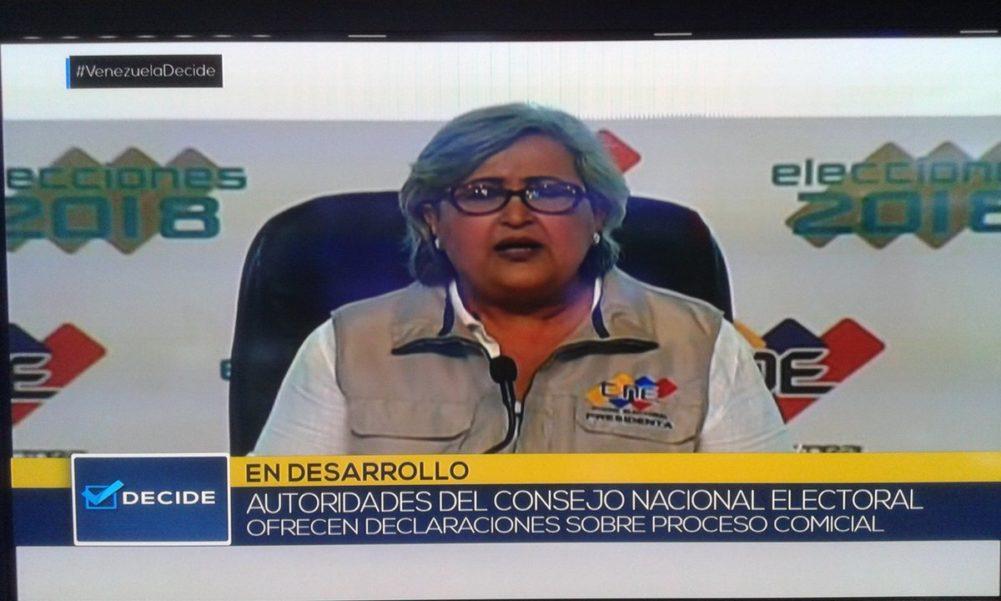 Sin sorpresas: CNE anuncia que Maduro ganó con casi 6 millones de votos