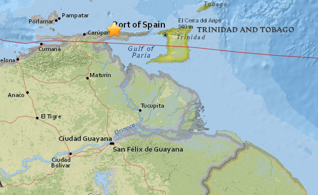 Temblor de Irapa se sintió en Anzoátegui