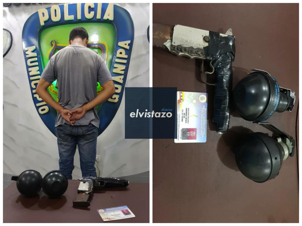 Poliguanipa capturó a ex GNB que robó a taxista