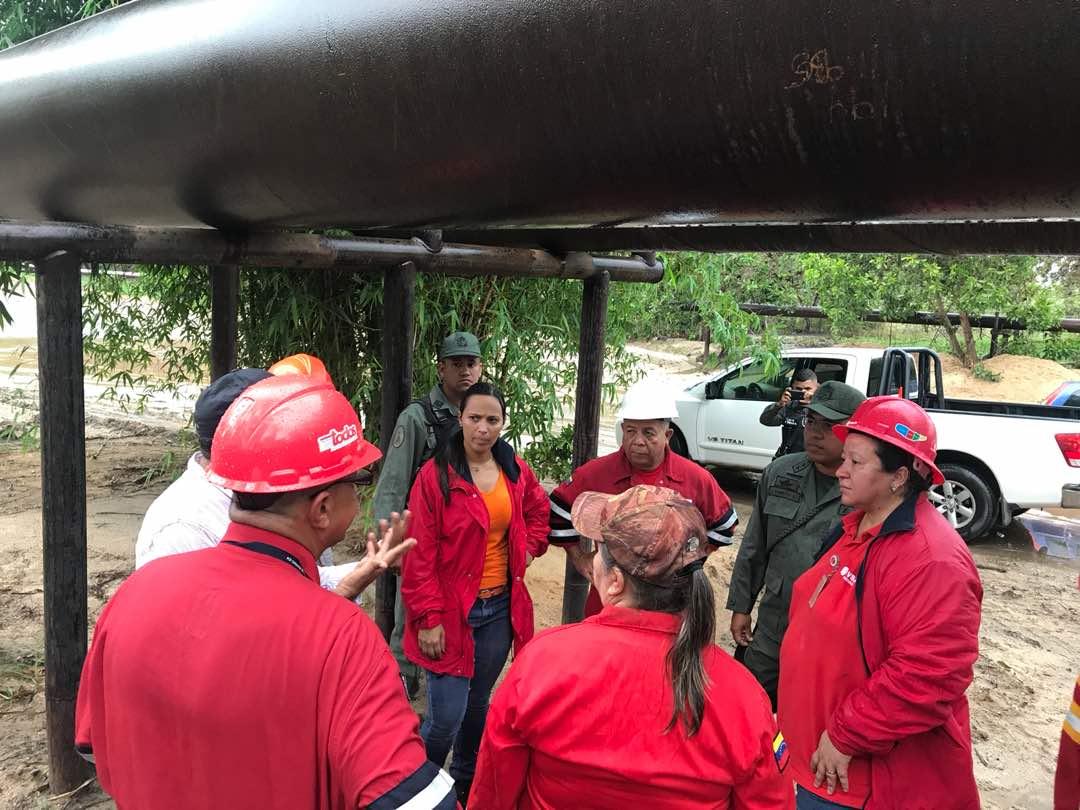 Ministerio del Ecosocialismo investiga derrame de 95 barriles de crudo al sur de Anzoátegui