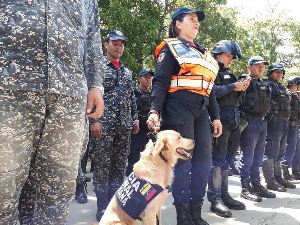 Desplegados más de 2.700 efectivos de seguridad en Anzoátegui