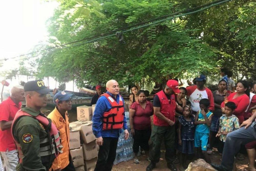 Alcalde Carlos Vidal contabiliza 380 familias afectadas por crecida del Orinoco