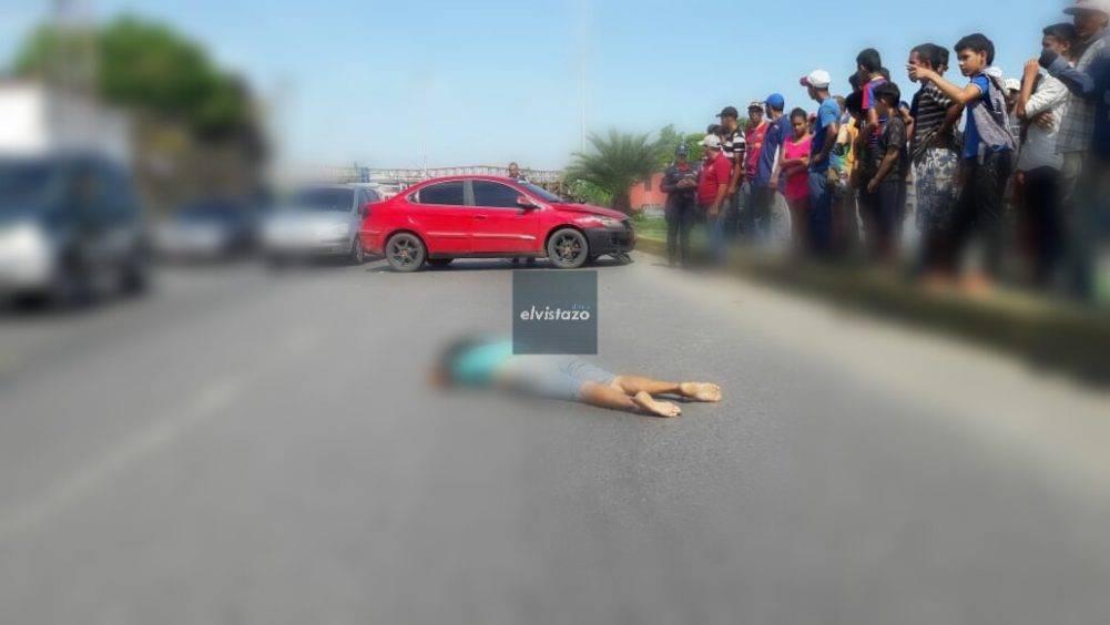 Una señora murió arrollada en la avenida Argimiro Gabaldón de Barcelona