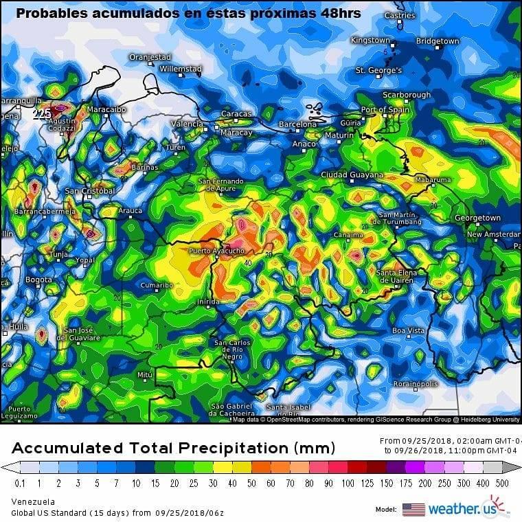 Vaguada y Onda Tropical número 49 afecta varias zonas del país