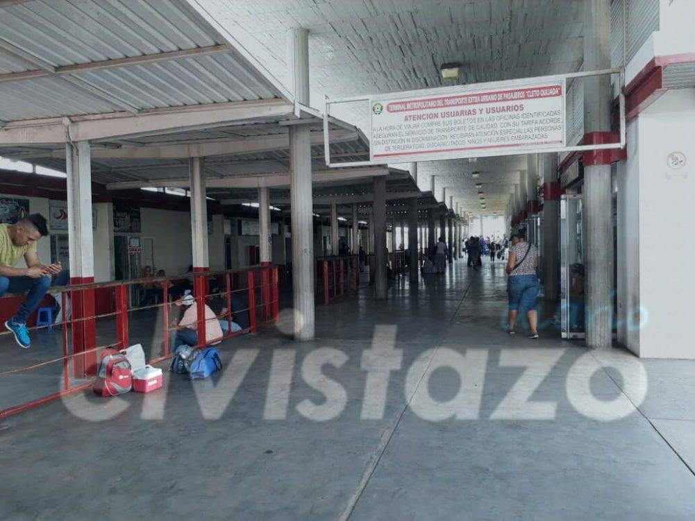 Terminal Cleto Quijada: Líneas recomiendan comprar pasaje dos días antes de la fecha de viaje