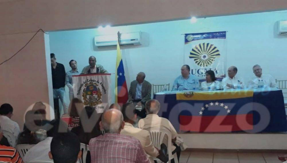 Cátedra de Derecho Constitucional de la UGMA hizo foro con diputados de Anzoátegui