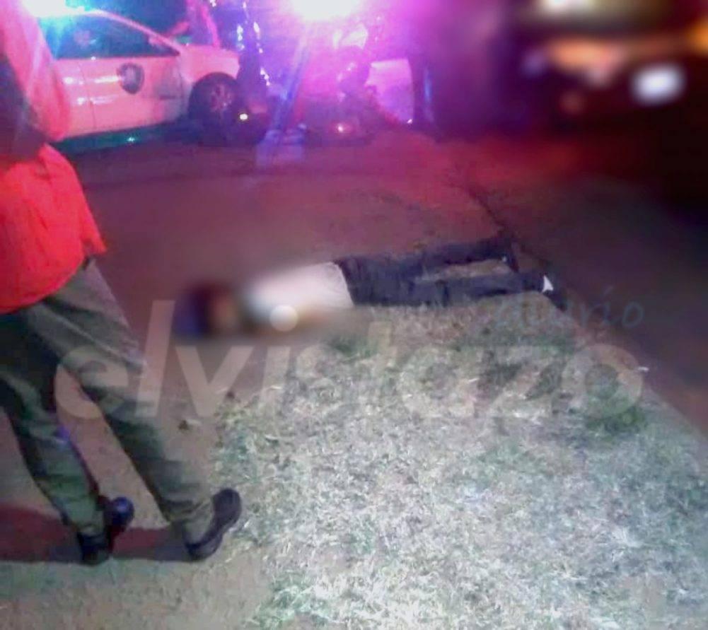 Asesinado con una puñalada en carretera negra La Flint