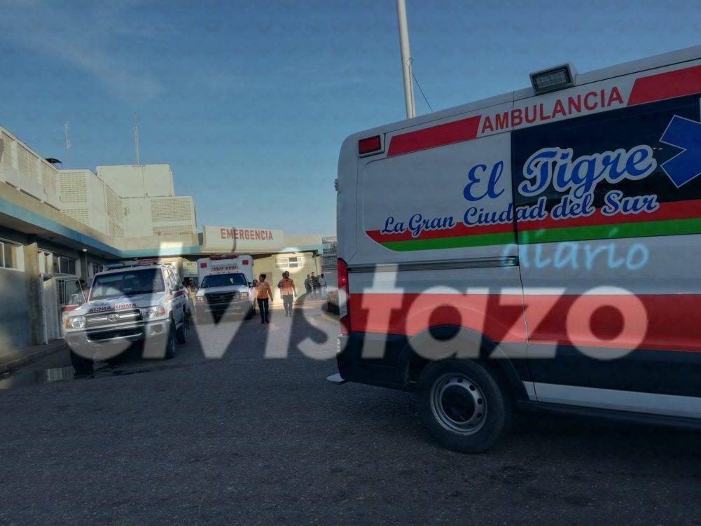 Presunto enfrentamiento deja dos heridos en sector Ezequiel Zamora de Guanipa