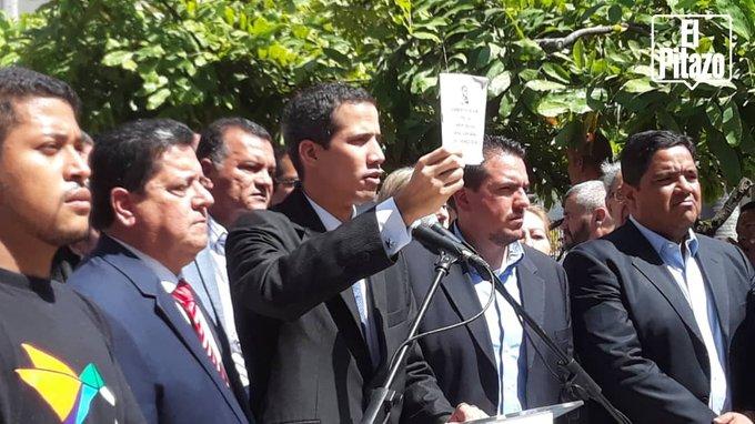 """Guaidó desestima la sentencia de los """"magistrados express"""" y mantiene el foco en el #23E"""