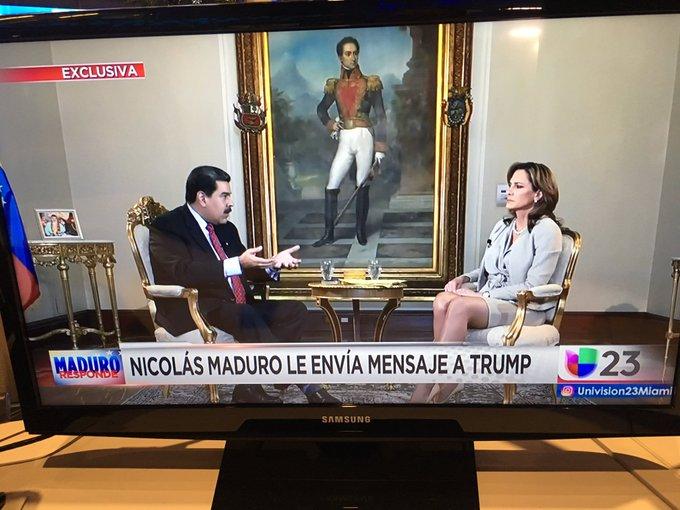 Maduro pide diálogo a Trump y exhorta a Pompeo visitar Venezuela