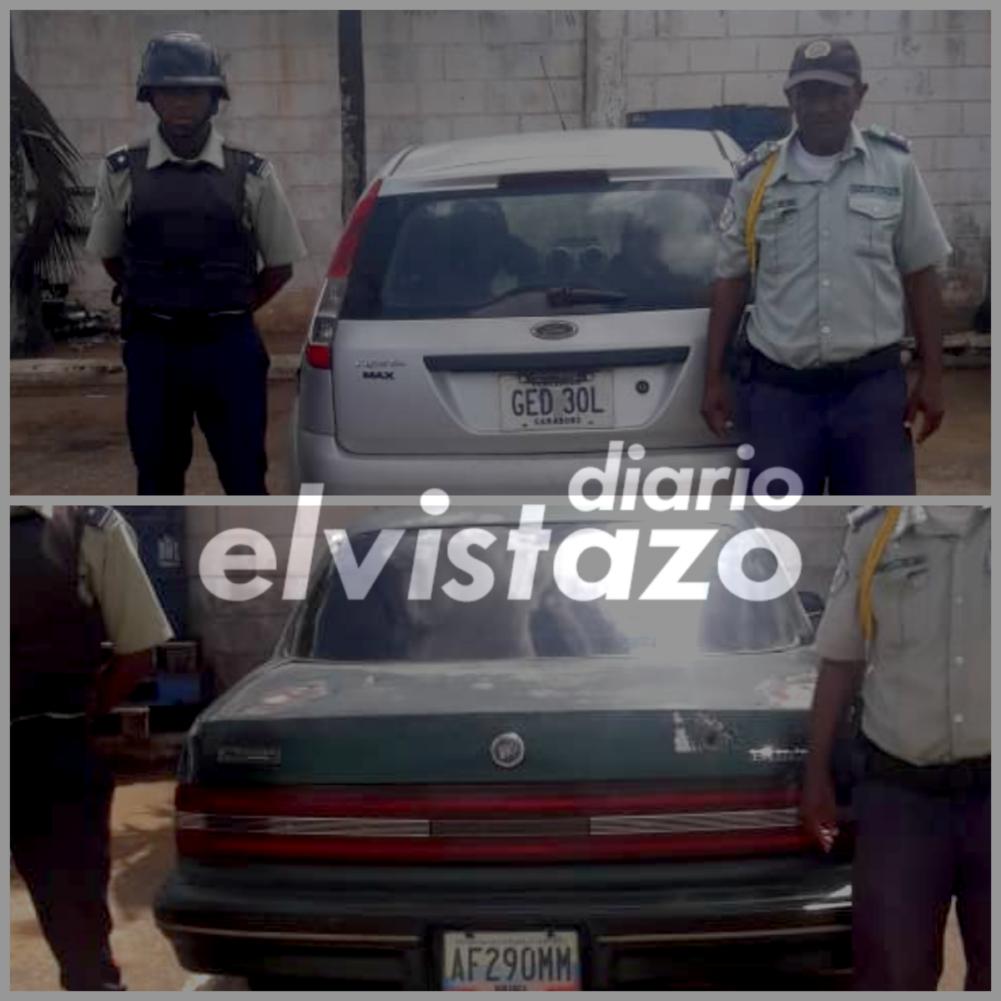 Poliguanipa interceptó a ladrones de vehículo Ford Fiesta