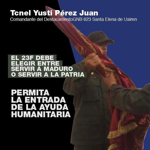 Guaidó busca mover la fibra militar: #SoldadoEscucha supera los 49 mil tweets