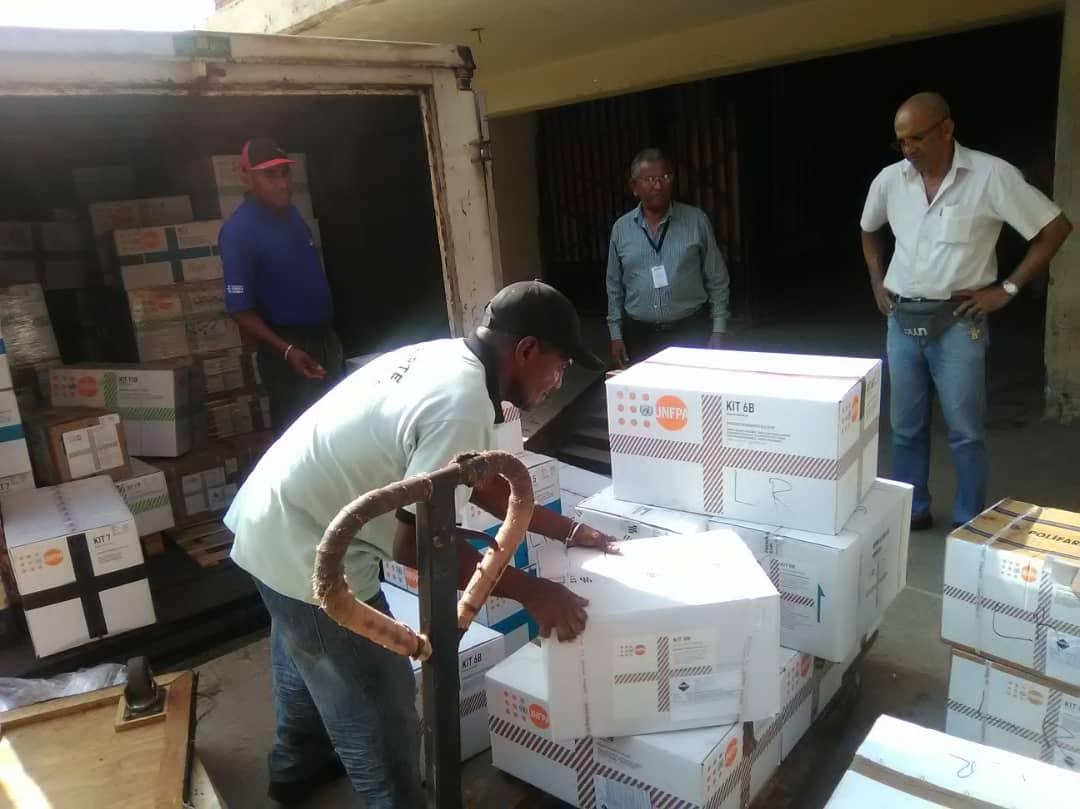 Naciones Unidas dona insumos de salud sexual y reproductiva en hospitales de Anzoátegui