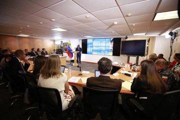 Reverol recibió a la Comisión Técnica de Bachelet