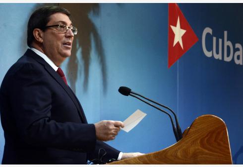 Canciller cubano desmiente despliegue de tropas en frontera colombo venezolana