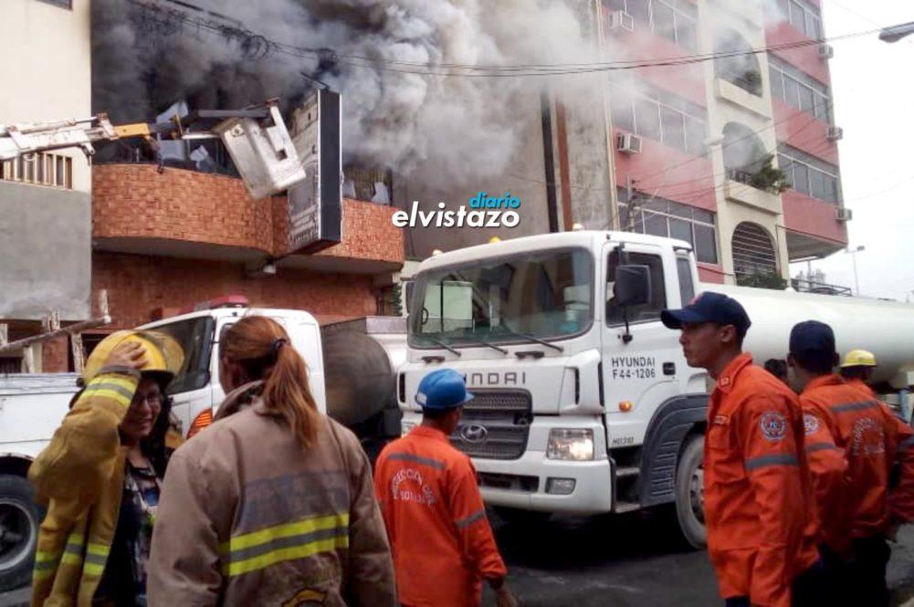 Incendio consumió tapicería en Puerto La Cruz sin dejar víctimas