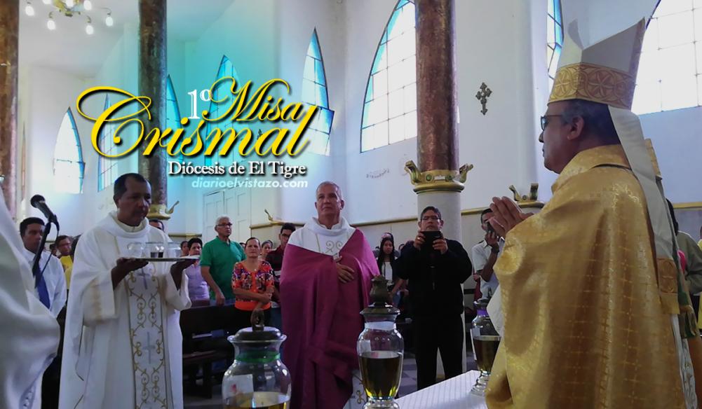 FOTOS: Diócesis de El Tigre celebró su primera Misa Crismal