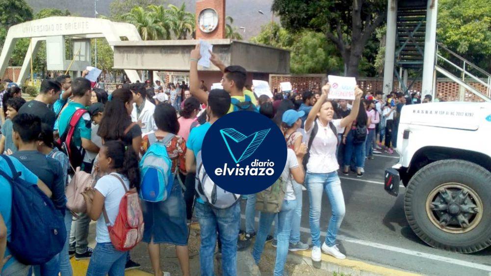 Fiscal del Ministerio Público inició proceso por toma del rectorado de la UDO