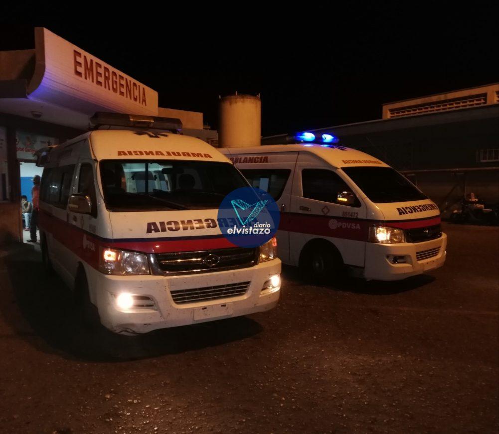 Un lesionado en choque registrado anoche en la avenida Winston Churchill