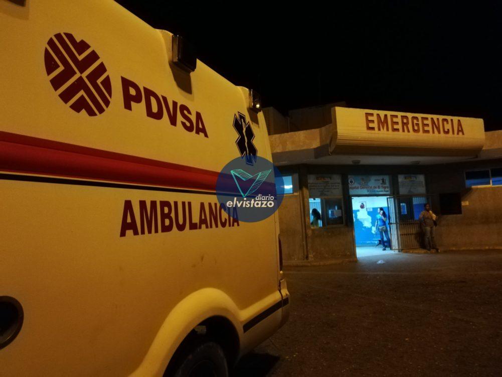 Hombre baleado al salir de gallera está delicado en hospital de El Tigre